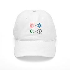 USA + Israel - Islam = Peace Baseball Cap