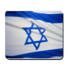 National Flag of Israel Mousepad
