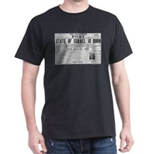State of Israel is Born Headline T-Shirt