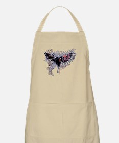 Edward Heart of Darkness BBQ Apron