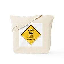 Slow Wildlife Crossing, Australia Tote Bag