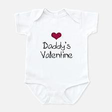 Daddy's Valentine Baby Toddler Infant Bodysuit