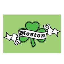 Boston on Shamrock Postcards (Package of 8)