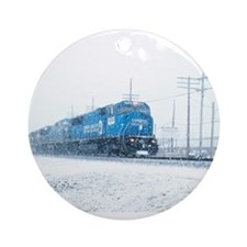 Funny Norfolk southern Ornament (Round)