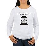 Never Die Women's Long Sleeve T-Shirt
