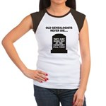 Never Die Women's Cap Sleeve T-Shirt