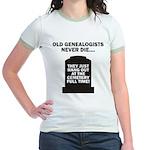 Never Die Jr. Ringer T-Shirt