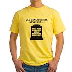 Never Die Yellow T-Shirt