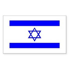 National Flag of Israel Rectangle Decal