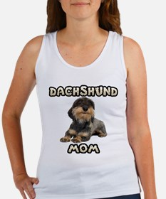 Wirehaired Dachshund Mom Women's Tank Top