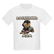 Wirehaired Dachshund Mom T-Shirt