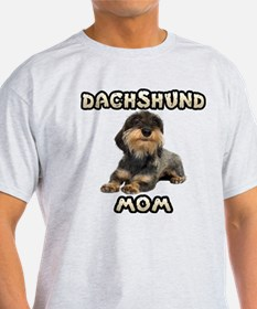 Wirehaired Dachshund Mom T-Shirt