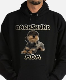 Wirehaired Dachshund Mom Hoodie