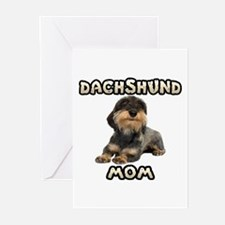 Wirehaired Dachshund Mom Greeting Cards (Pk of 10)