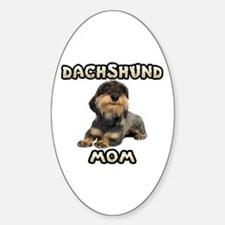 Wirehaired Dachshund Mom Decal