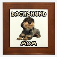 Wirehaired Dachshund Mom Framed Tile