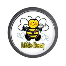 Little Honey Bee Wall Clock