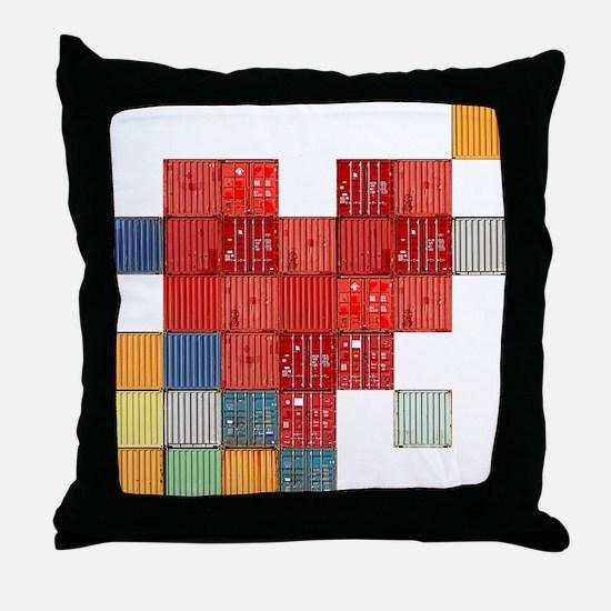 Shipping Love Throw Pillow