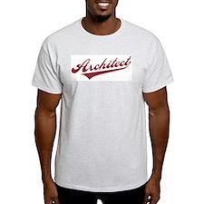 Retro Architect Ash Grey T-Shirt