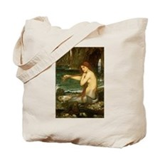 Mermaid by JW Waterhouse Tote Bag