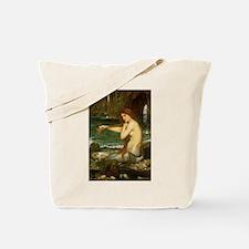Mermaid by JW Waterhouse Tote Bag