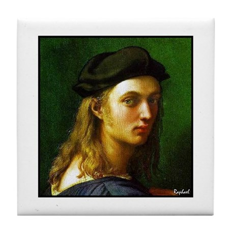 "Faces ""Raphael"" Tile Coaster"