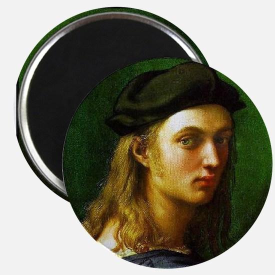 """Faces """"Raphael"""" Magnet"""