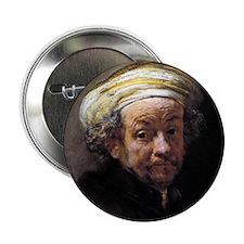 """Faces """"Rembrandt"""" 2.25"""" Button"""