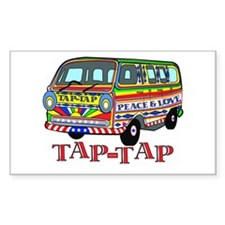 Tap Tap Rectangle Decal