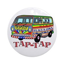 Tap Tap Ornament (Round)
