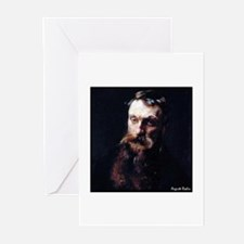 """Faces """"Rodin"""" Greeting Cards (Pk of 10)"""