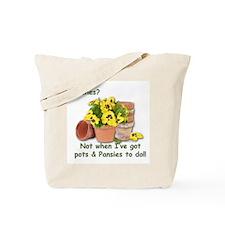 Pots & Pansies Tote Bag