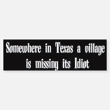 Village Idiot sticker