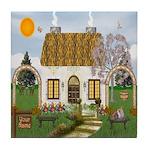 SAMPLE Sunshine Cottage Tile Coaster