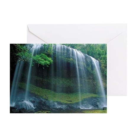 Curtain Waterfall Greeting Cards (Pk of 20)
