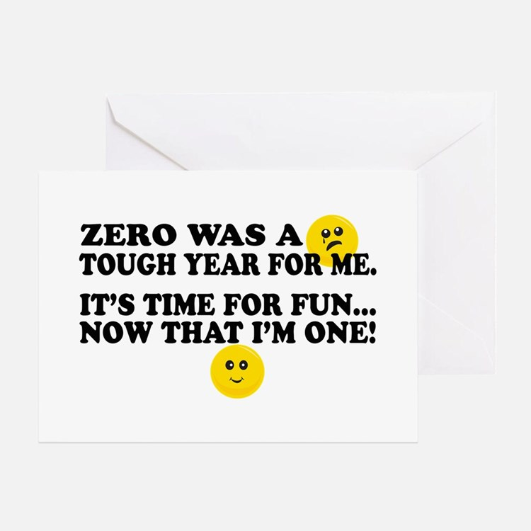 Funny First Birthday Greeting Card