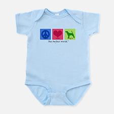 Peace Love Beagle Infant Bodysuit