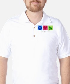 Peace Love Tervuren Golf Shirt
