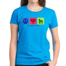 Peace Love Bernese Tee