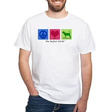 Peace Love Bloodhound Shirt