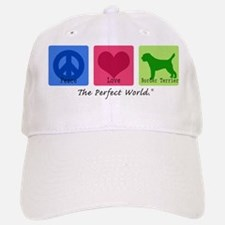 Peace Love Border Terrier Baseball Baseball Cap