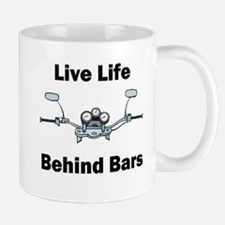 I Live My Life Behind Bars Mug