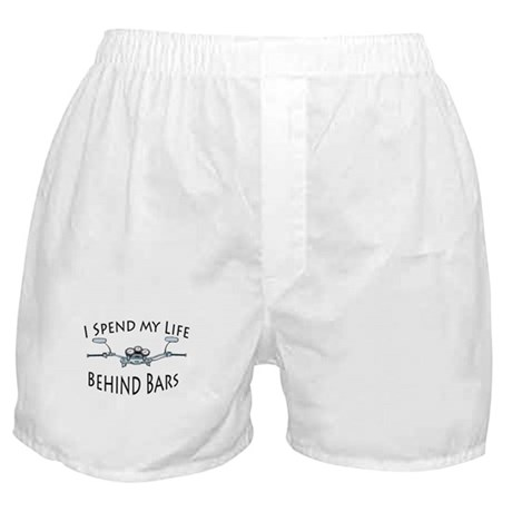 I Live My Life Behind Bars Boxer Shorts