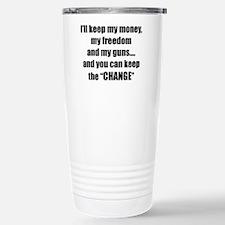 I'll Keep My Freedom Travel Mug