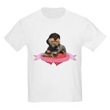 Wirehaired Dachshund Valentine T-Shirt