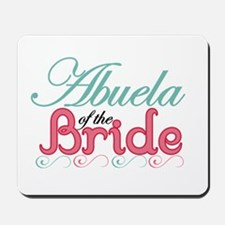 Abuela of the Bride Mousepad