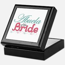 Abuela of the Bride Keepsake Box
