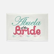 Abuela of the Bride Rectangle Magnet