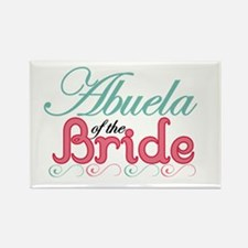 Abuela of the Bride Rectangle Magnet (10 pack)