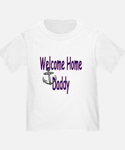 Clarissa's Navy Homecoming T